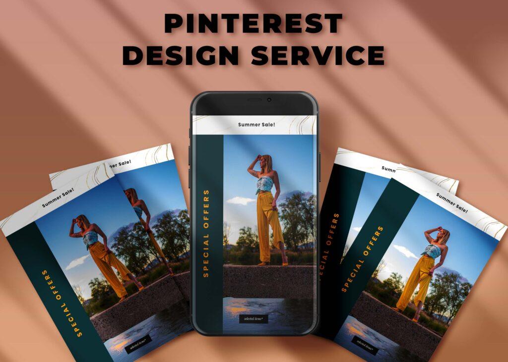 Pinterest banner design